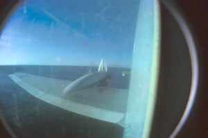 360 degree views are possible from the rear observation bubble windows. The ROU 20 Capitan Mirand