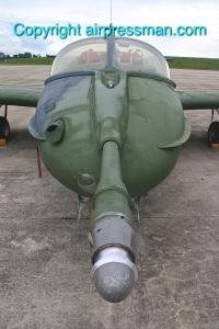 A-37B FAU 279 Air Refuel. Probe View-1