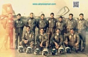 Pilotos al regreso de misión-1