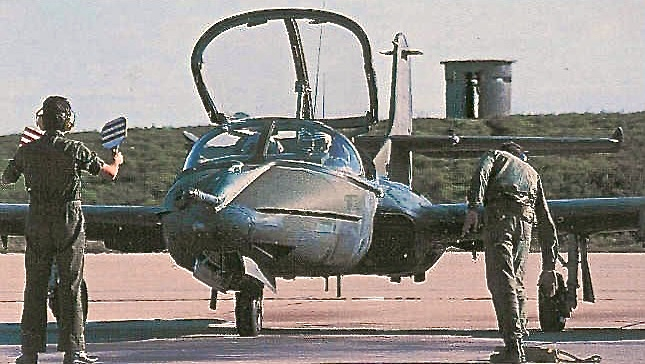 1417 A-37 dragonfly