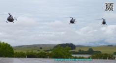 "Acercandose al ""nido"", la Base Aeronaval No.2/Approaching the nest, Naval Air Station No. 2, near Punta del Este."