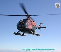 """Una vista desde la cubierta de popa del ROU 04 """"Artigas""""/A shot from the ROU 04 """"Artigas"""" landing deck."""