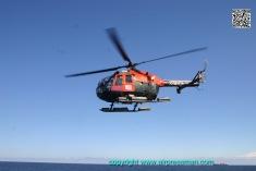 Sobre las costas de Punta del Este/Flying over the shores of Punta del Este, Uruguay.