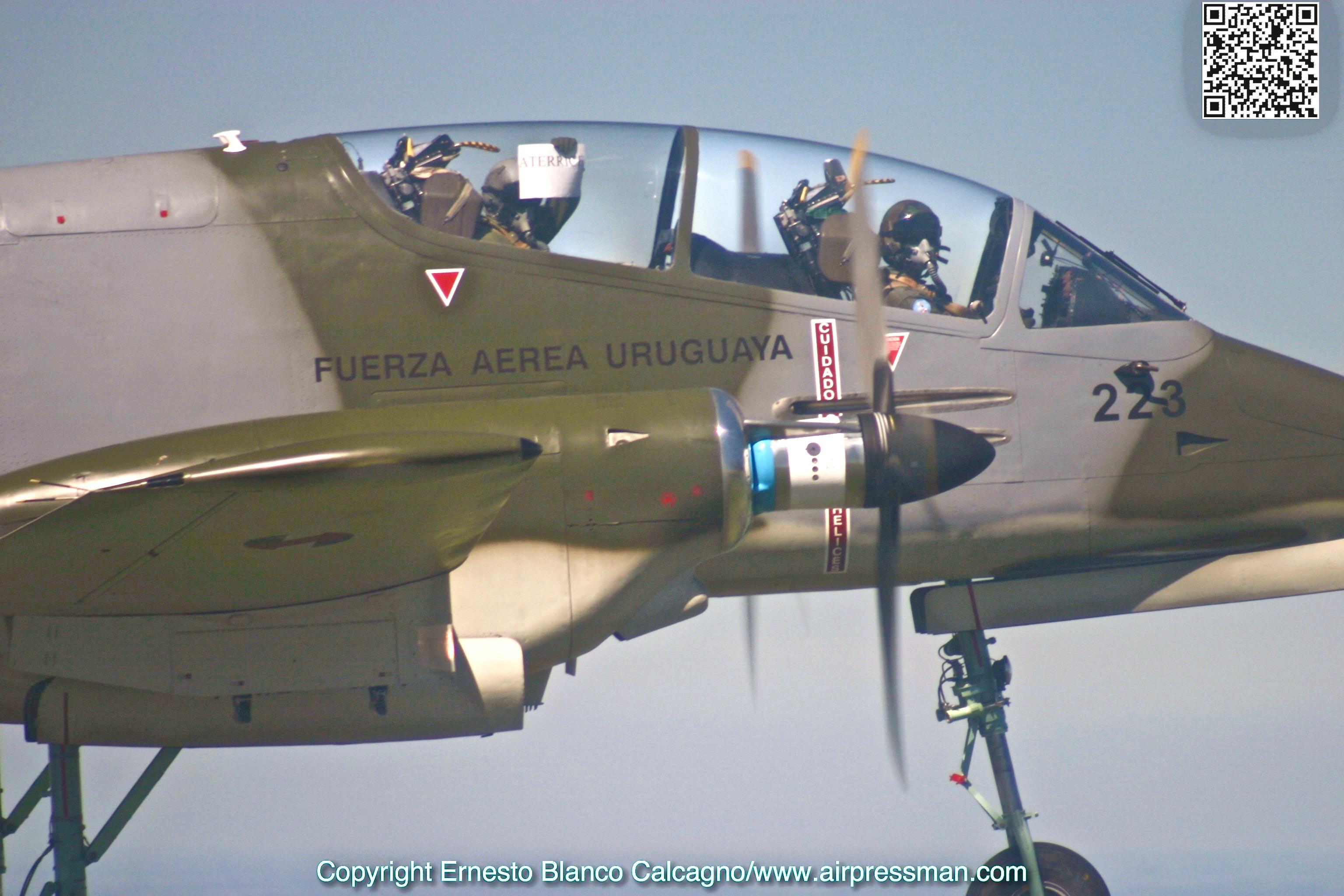 Pucará – Uruguayan Drugbuster - Airpressman